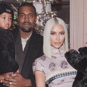Saint West Kanye West Kim Kardashian West North West