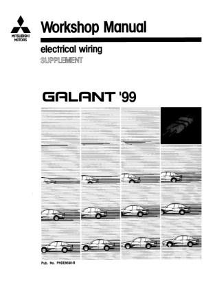1999 Mitsubishi Galant Electrical Wiring Diagram Download ~ Hey Downloads