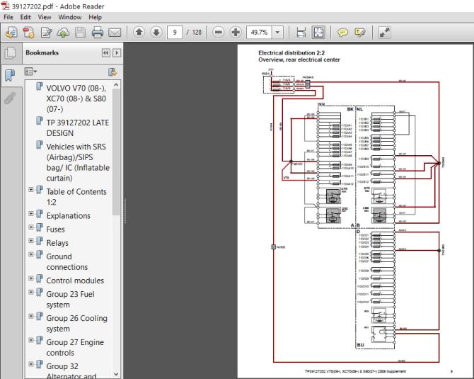 volvo xc70 2008 wiring diagram  auto wiring diagrams time