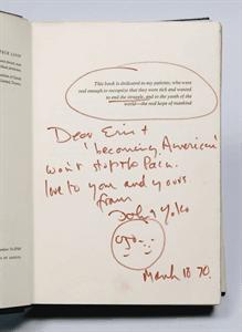 Lennon Primal Scream inscription