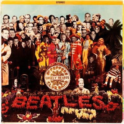 Super rare Sgt Pepper promo LP with Capitol execs, 1967