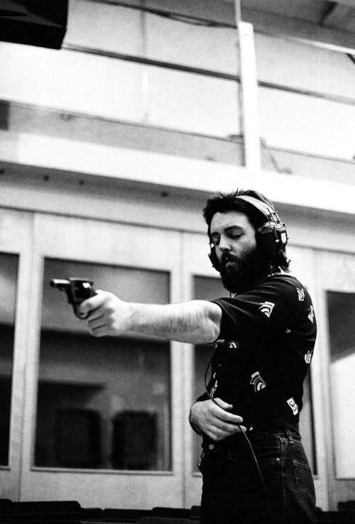 Paul with gun
