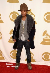 Pharrell in hat