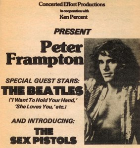 Frampton and Beatles poster