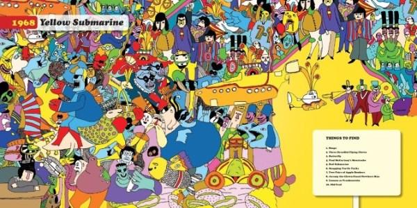 Where's Ringo Yellow Sub spread