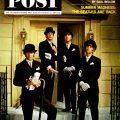 Beatles in bowlers, SatEvePost 1964