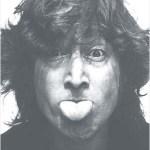 Lennon tongue out