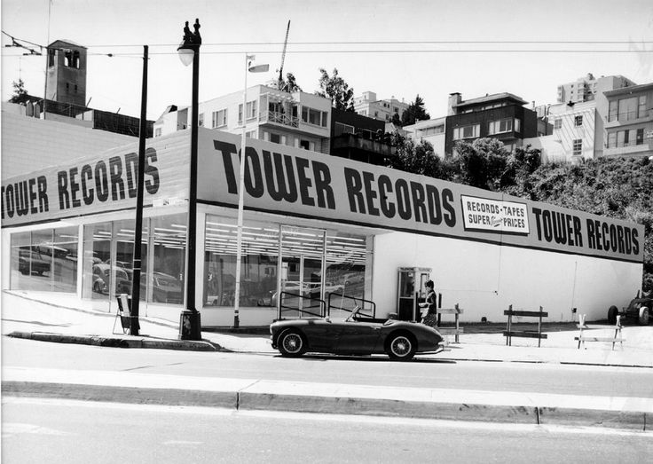 Tower Records on Sunset Blvd