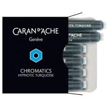 Caran D'Ache Chromatcs nk cartridge hypnotic turquoise