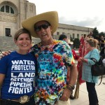 Marching in Lincoln, NE, to give Keystone the boot