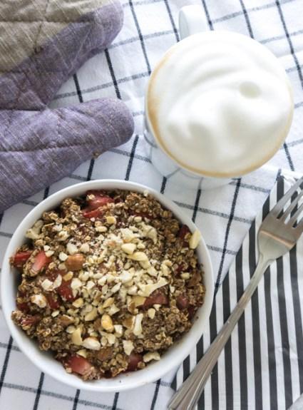 Easy Strawberry Breakfast Bake