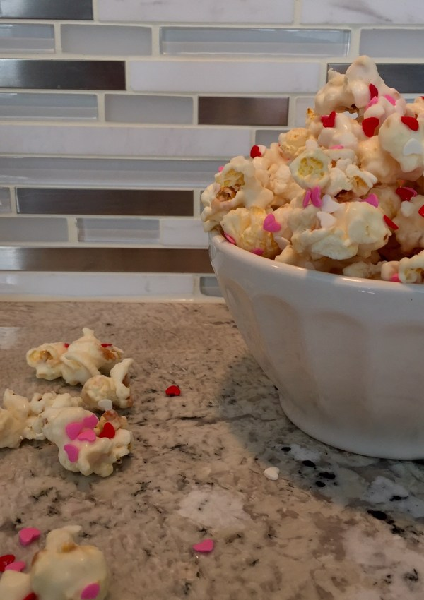Valentine's Festiveness: The Popcorn Edition