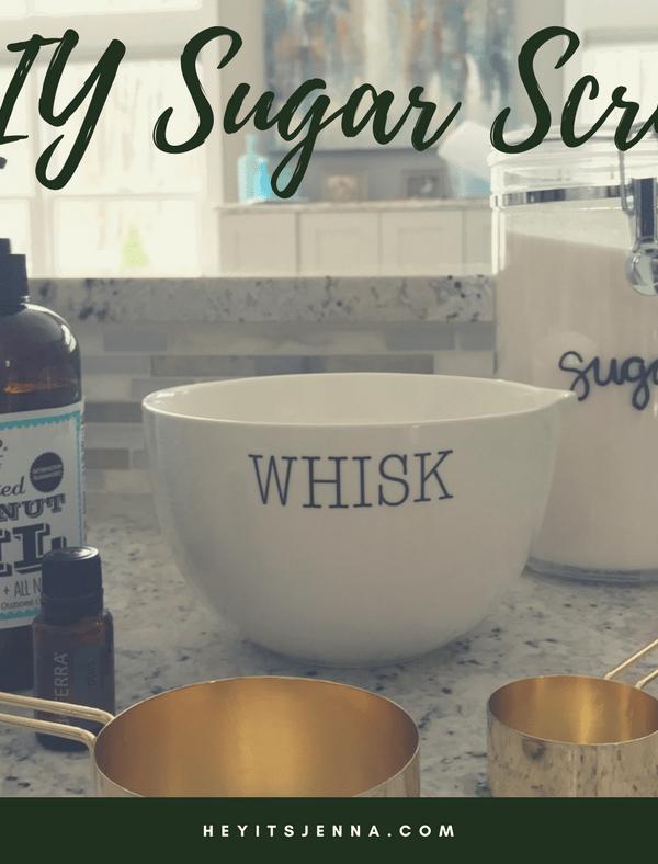 DIY Eucalyptus Sugar Scrub