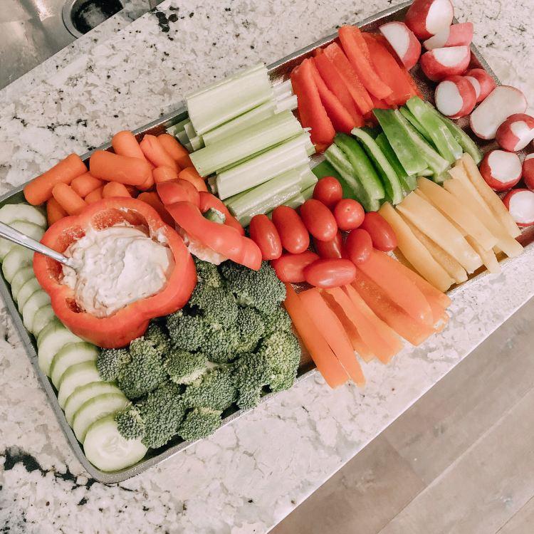 veggie tray heyitsjenna