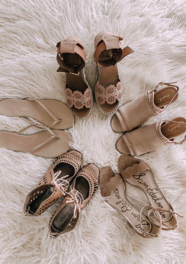 Favorite Sandals for Spring