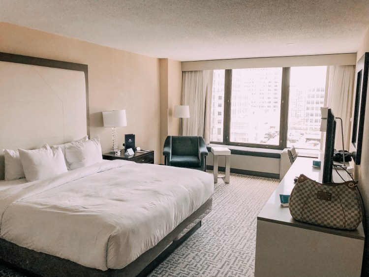 doubletree hilton hotel chicago magnificent mile