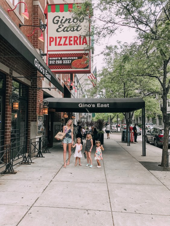 gino's east chicago family-friendly weekend