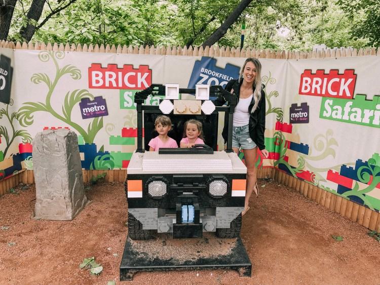 Brookfield Zoo Chicago Brick Safari LEGO