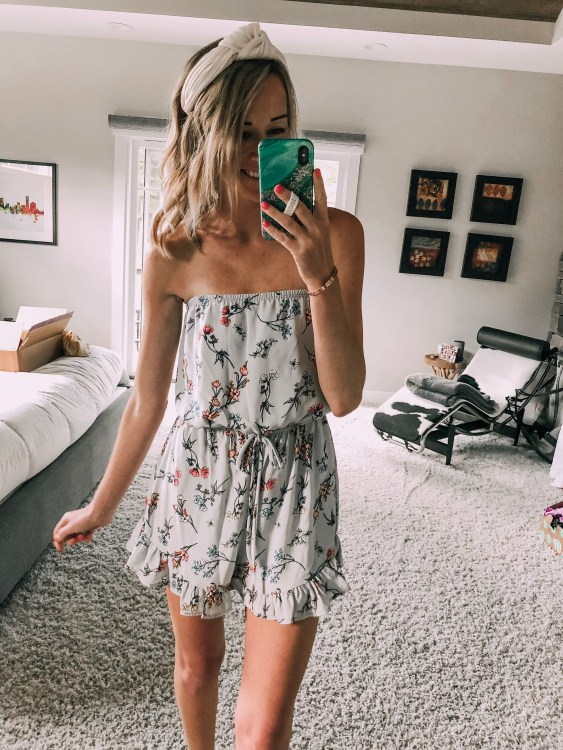 windsor ruffle romper outfit