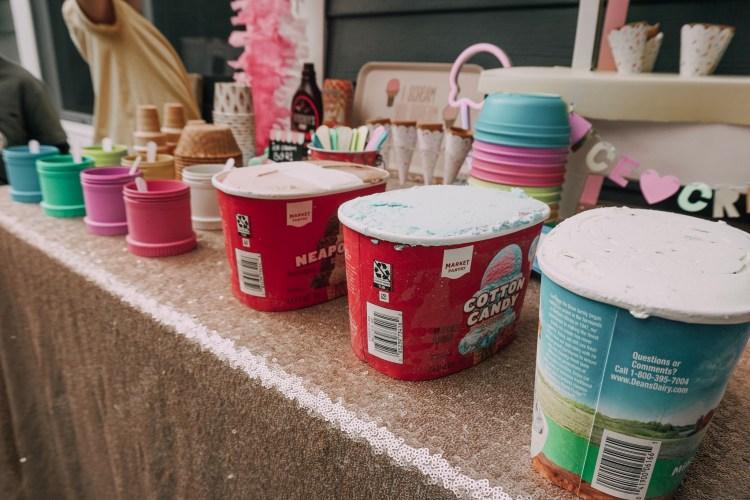 Ice Cream shoppe birthday party heyitsjenna