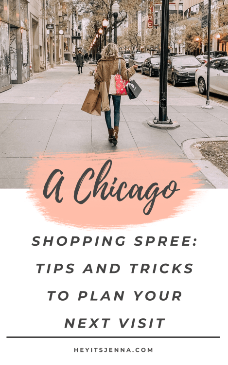 chicago shopping guide