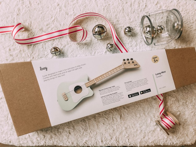 loog guitar for kids gift guide