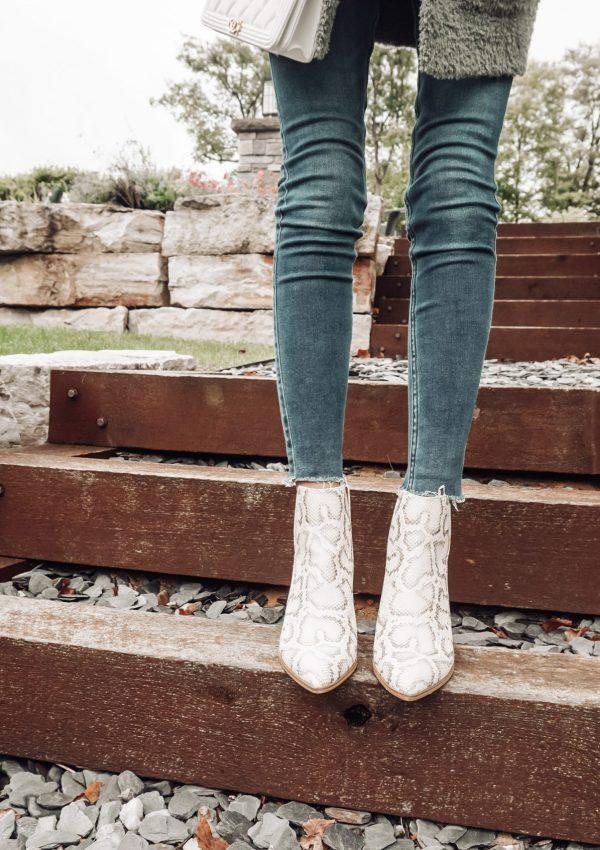 Walking on the Wild Side: Snakeskin Boots