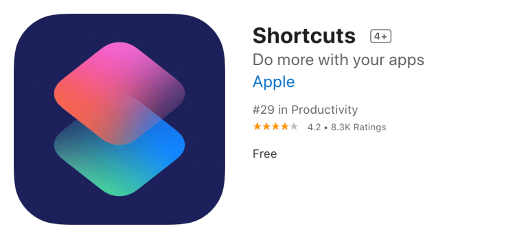 siri shortcuts app change covers