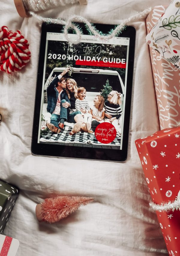 The Hey, it's Jenna 2020 Holiday Guide is LIVE