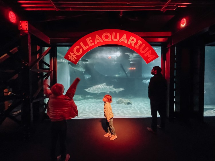 family things to do in cleveland, ohio aquarium