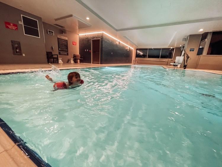 indoor pool cleveland, ohio