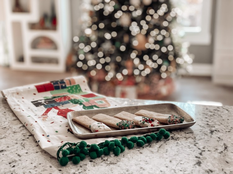 sugar cookie sticks easy christmas dessert recipes with kids