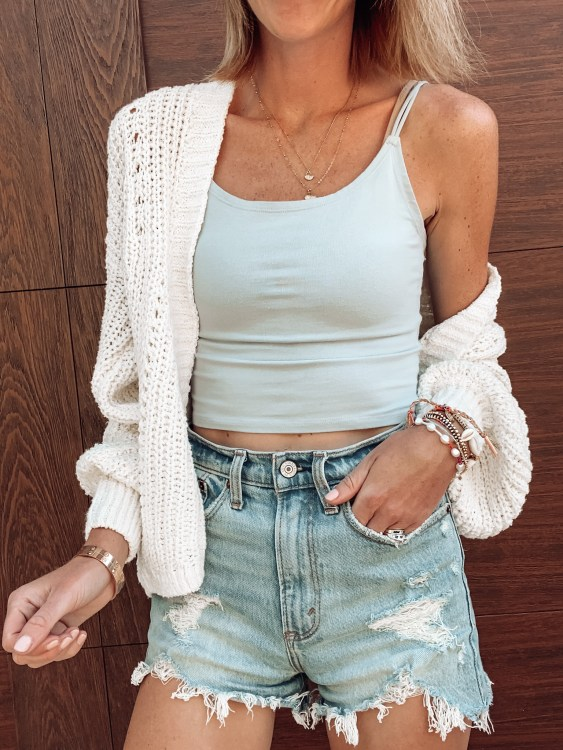 shorts, summer outfit, abercrombie style