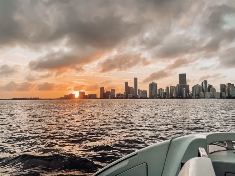 south beach travel guide boat rental sunset