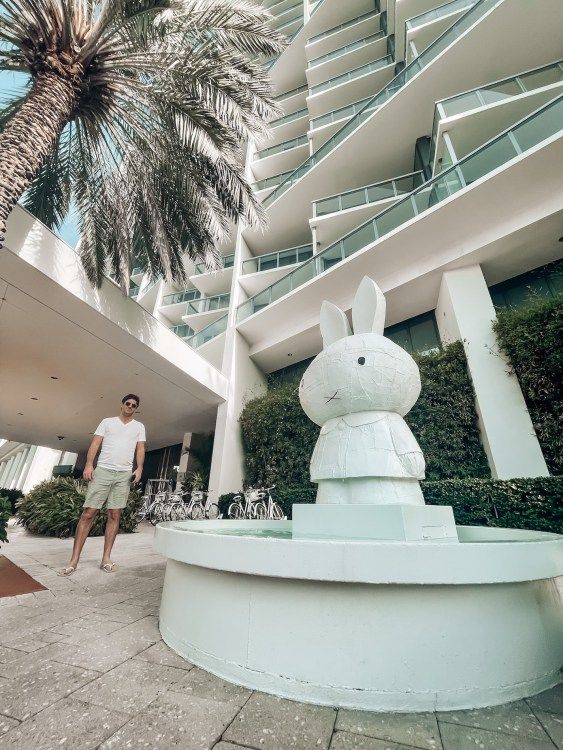 outside at the w south beach hotel