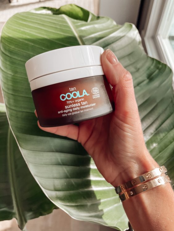 COOLA's sunless tan sun-kissed glow