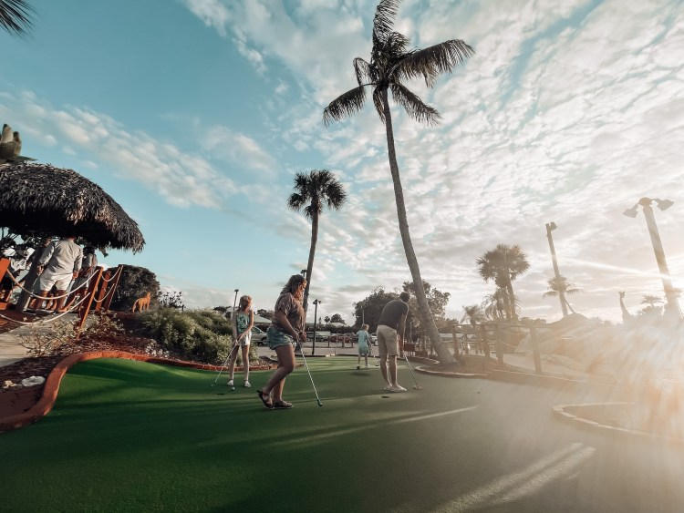 a week in bonita springs golf safari mini golf family fun
