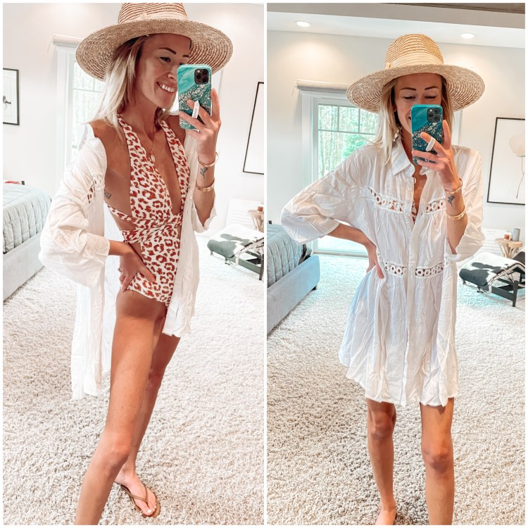amazon one piece swimsuit, fashion, style, spring outfits, coverup