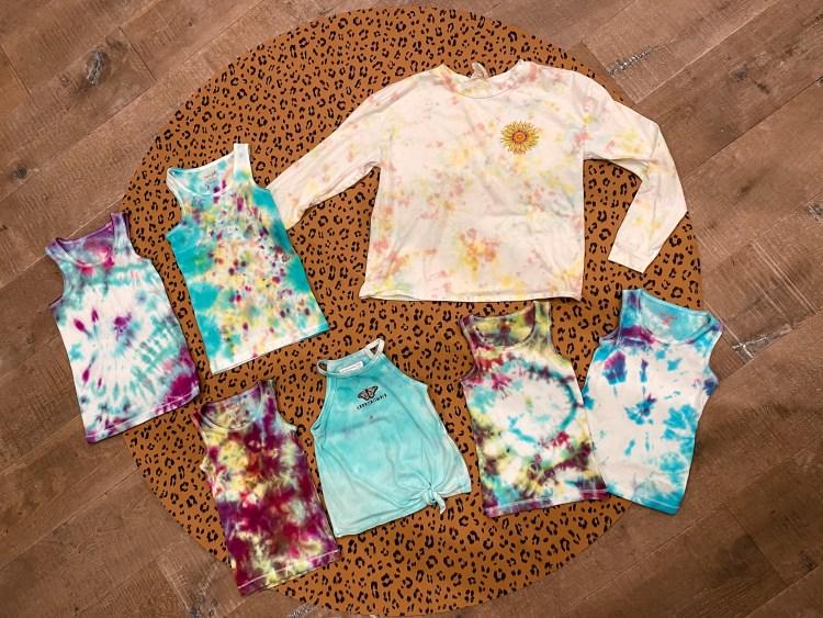 tulip craft kits at target, tie dye for kids