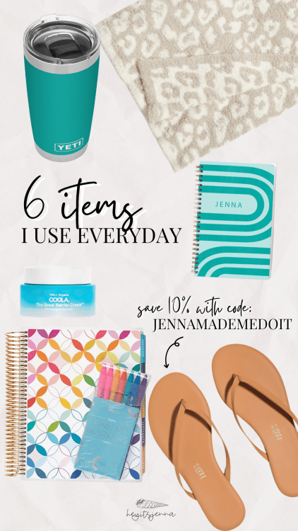 6 items I use everyday work from home influencer favorites
