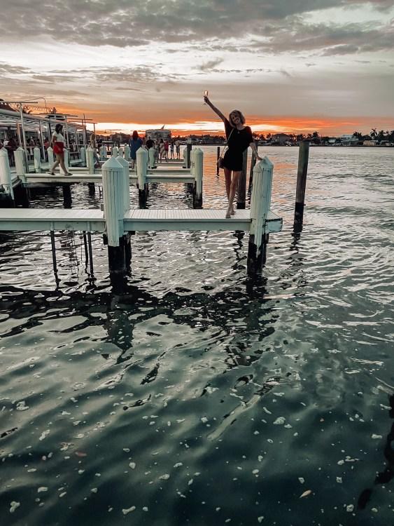 sunset marco island, snook inn