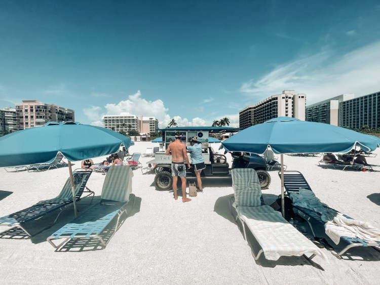 the gulf cart, hilton marco island hotel