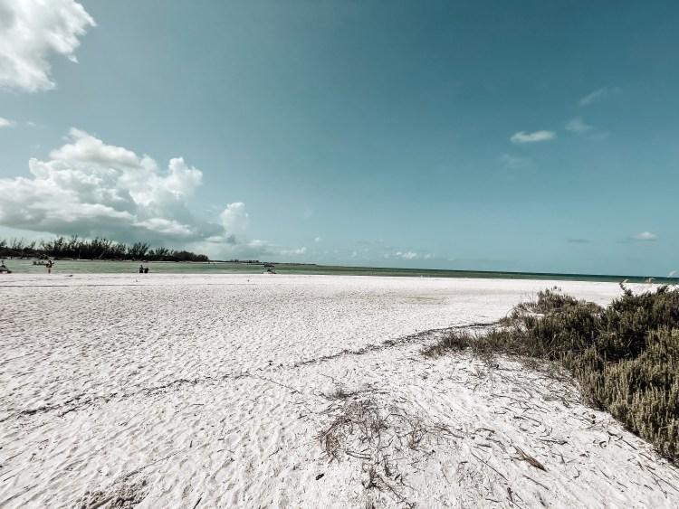 Keewaydin barrier island in the gulf of mexico