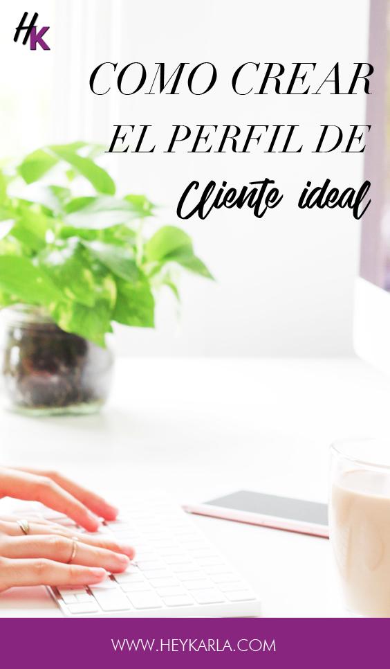 Como crear el perfil de tu cliente ideal