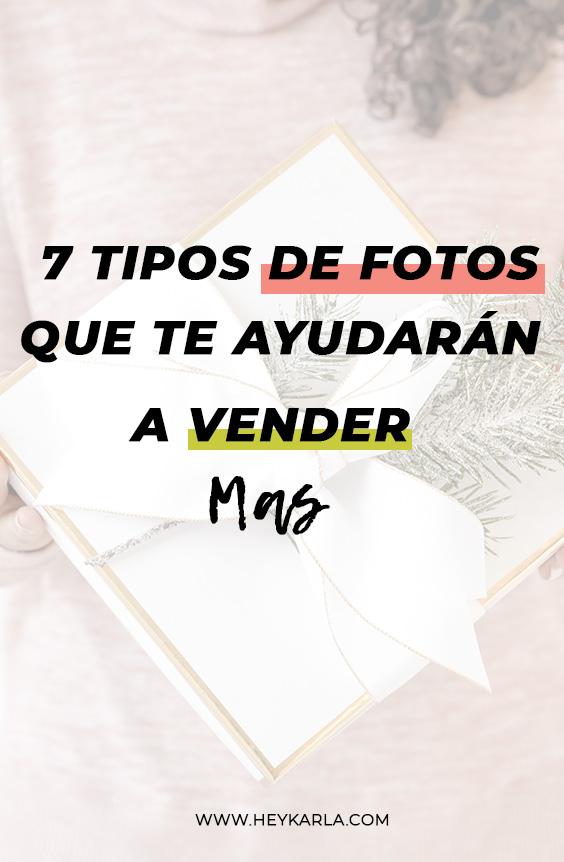 7 tipos de fotos que te ayudarán a vender más