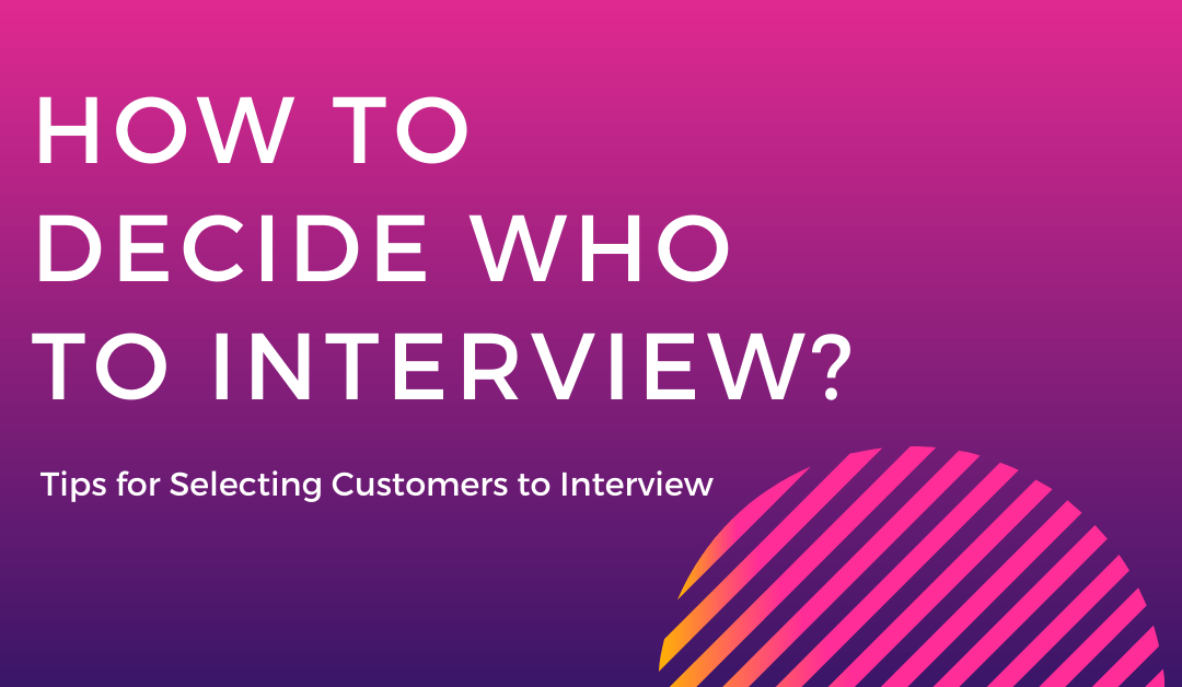 How To Decide Who to Interview