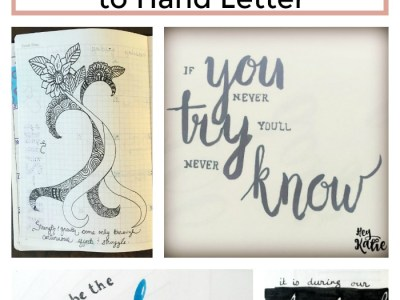 50+ Positive and Uplifting Quotes to Hand Letter