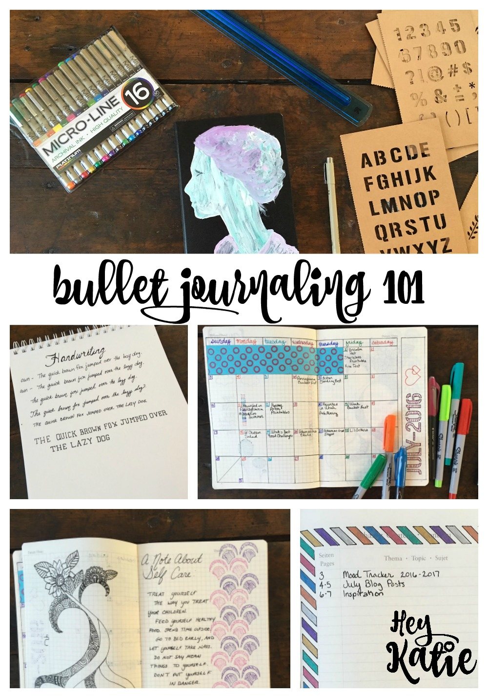 Bullet Journaling 101 - How to get started