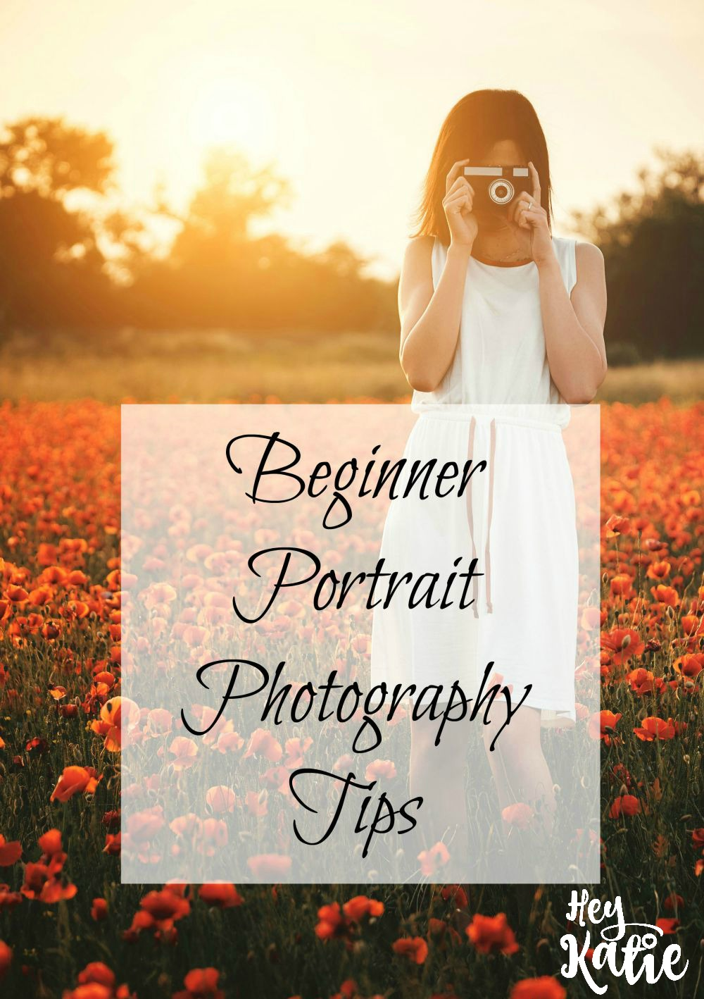 Beginner Portrait Photography Tips