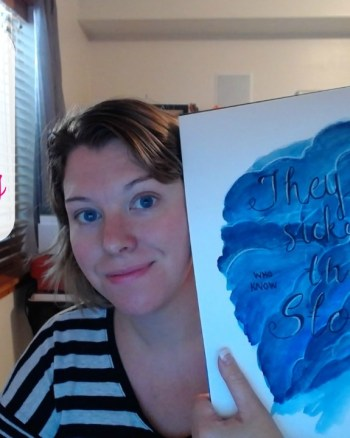 VEDA Day 9: How to Illustrate a Quote (Speed Painting)